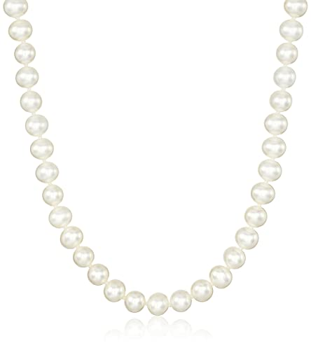 """14k Gold AA-Quality Freshwater Cultured Pearl Strand Necklace, 16-60"""""""