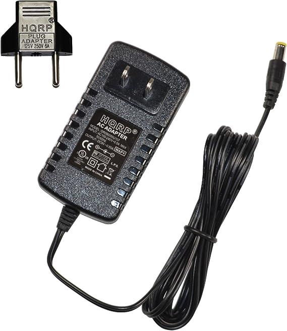 HQRP AC Adaptador para Casio AD-5 AD-5G, CTK-710 800 900, LK-90TV 93TV 100 200S 210, CTK-700 WK-400 Teclado arrangeur: Amazon.es: Electrónica