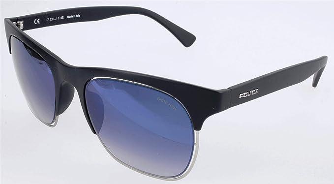 Police Sonnenbrille Spl160M Gafas de sol, Negro (Schwarz ...