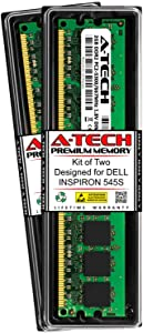 A-Tech 4GB (2 x 2GB) RAM for DELL INSPIRON 545S   DDR2 667MHz DIMM PC2-5300 240-Pin Non-ECC UDIMM Memory Upgrade Kit