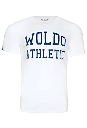 WOLDO Athletic I T-Shirt Herren I Rundhals-Ausschnitt I Kurzarm I Regular- Fit I T Shirt  Amazon.de  Bekleidung 2f26d2225a