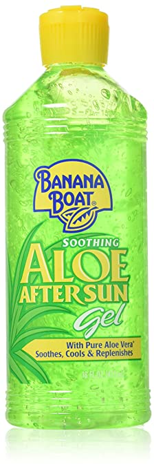 Sun Protection & Tanning After Sun Skin Care New Banana Boat Soothing Aloe After Sun Gel With Pure Aloe Vera-16 Oz