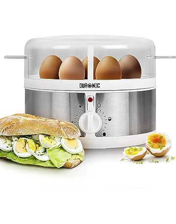 Duronic EB35 Cocedor de Huevos Eléctrico con Capacidad de 1 a 7 Huevos Cocidos, Duros