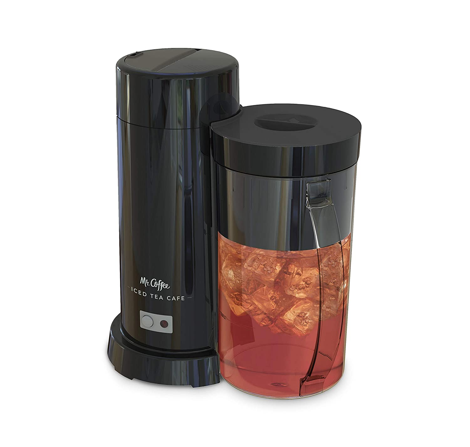 Mr. Coffee 2-Quart Iced Tea & Iced Coffee Maker, Black
