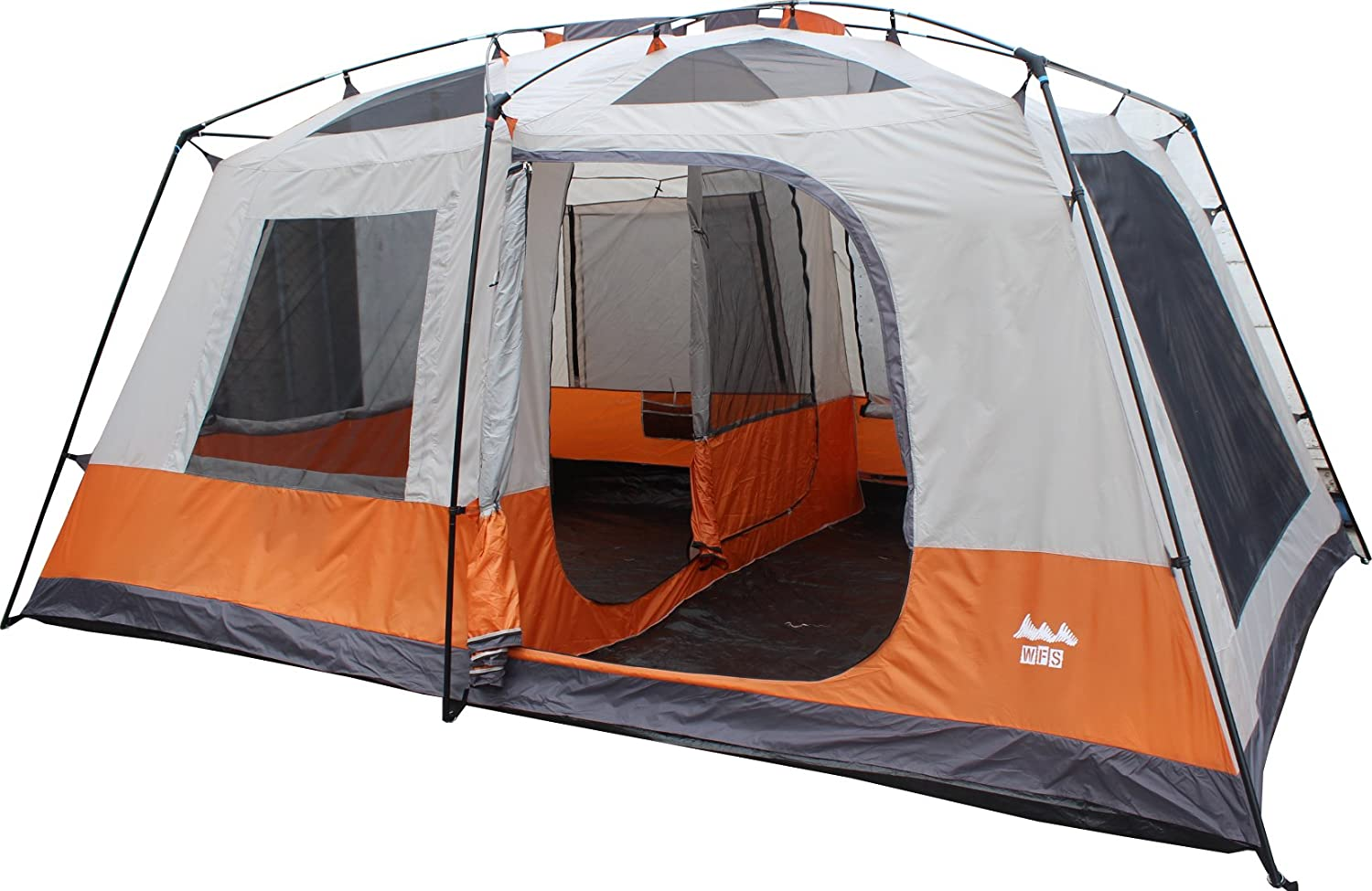 CDM product World Famous Sports TNT-10 8-Person 2-Room Cabin Camping Tent big image