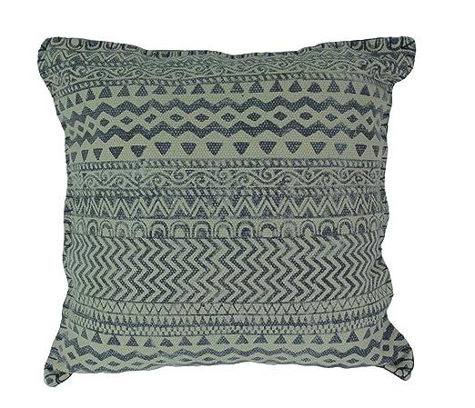 Manta de algodón de tela vaquera, diseño geométrico, algodón ...