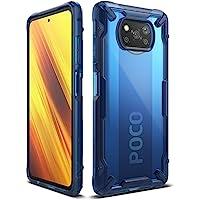 Ringke Fusion-X Compatible con Funda Xiaomi Poco X3 NFC (2020) Transparente Carcasa Poco X3 NFC, Parachoque TPU…