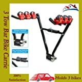 ROADMAX 3 Bike Rear Tow bar Mount Cycle Bicycle Carrier Car Rack Tow Bar Tow ball