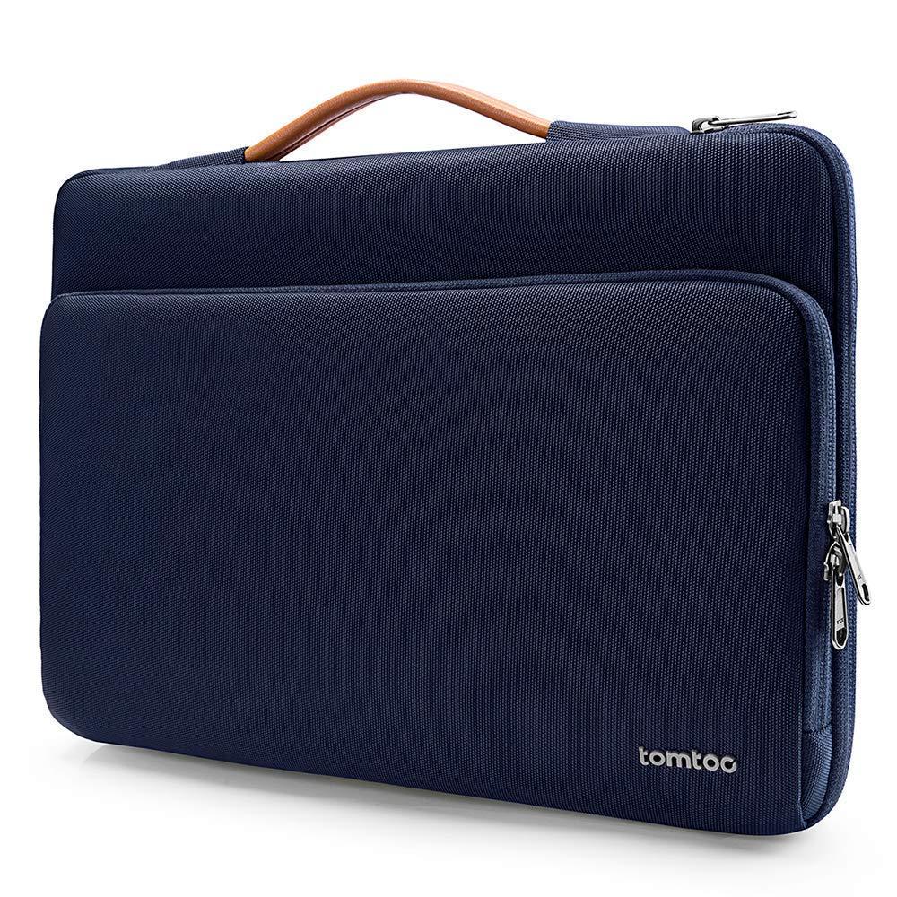 Notebook Tragetasche Handtasche Schutzh/ülle HP//Acer Chromebook 14 tomtoc Laptop Aktentasche Tasche geeignet f/ür Neu MacBook Pro 15 2016-2018 Thinkpad 14 Schwarz