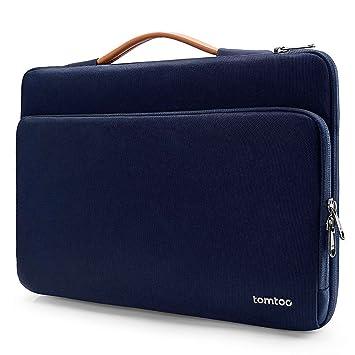 tomtoc - Funda Protectora para Ordenador portátil HP DELL ASUS Acer Thinkpad Samsung Chromebook de 15