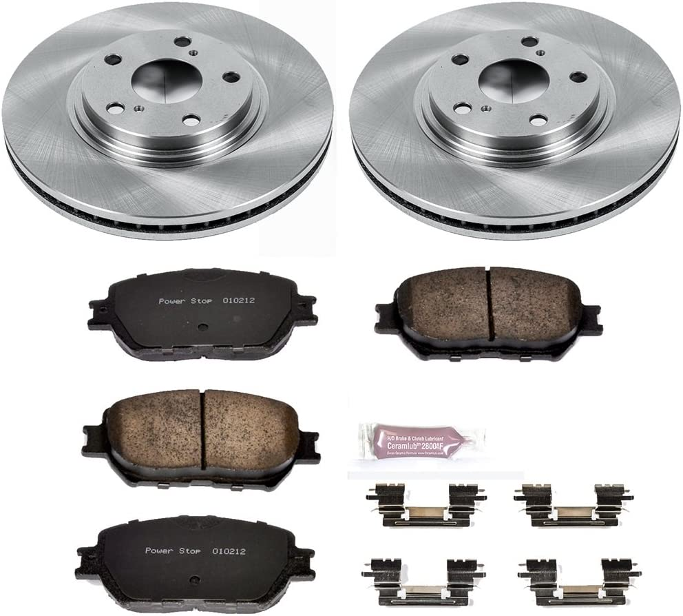 Autospecialty KOE1143 1-Click OE Replacement Brake Kit