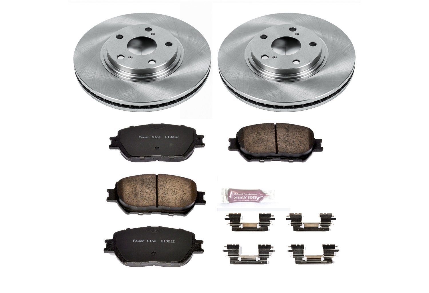 Autospecialty KOE1143 1-Click OE Replacement Brake Kit Power Stop