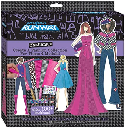 Amazon Com Project Runway Fashion Design Runway Collection Toys Games