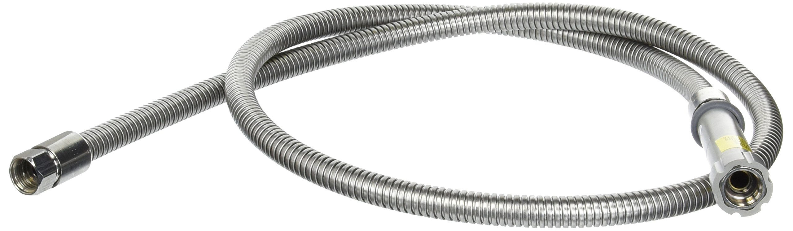 TS Brass B-68-H 68-Inch Pre-Rinse Hose, Stainless Steel by T&S Brass