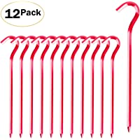 Essential for Camping and Outdoor Use 9 inch Plastic Heavy Duty All Purpose Atwood Rope MFG A9 Scout Tent Stakes 6 Pack Landscape
