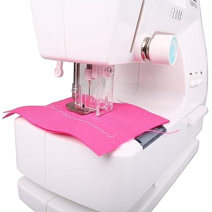 speel Goed H64/3899 - Niños Máquina de coser con funciones correcta y accesorios funciona con pilas: Amazon.es: Juguetes y juegos