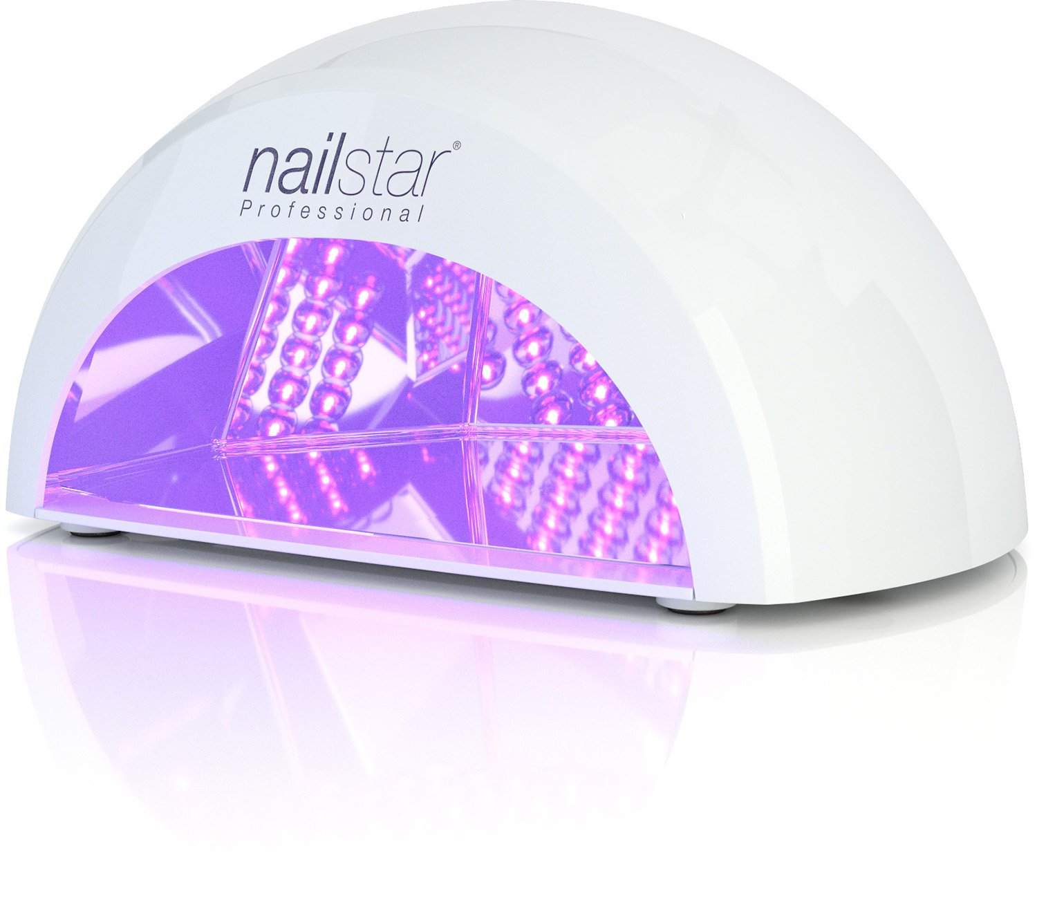 NailStar® Professional LED Nail Dryer Nail Lamp for Gel Polish with ...