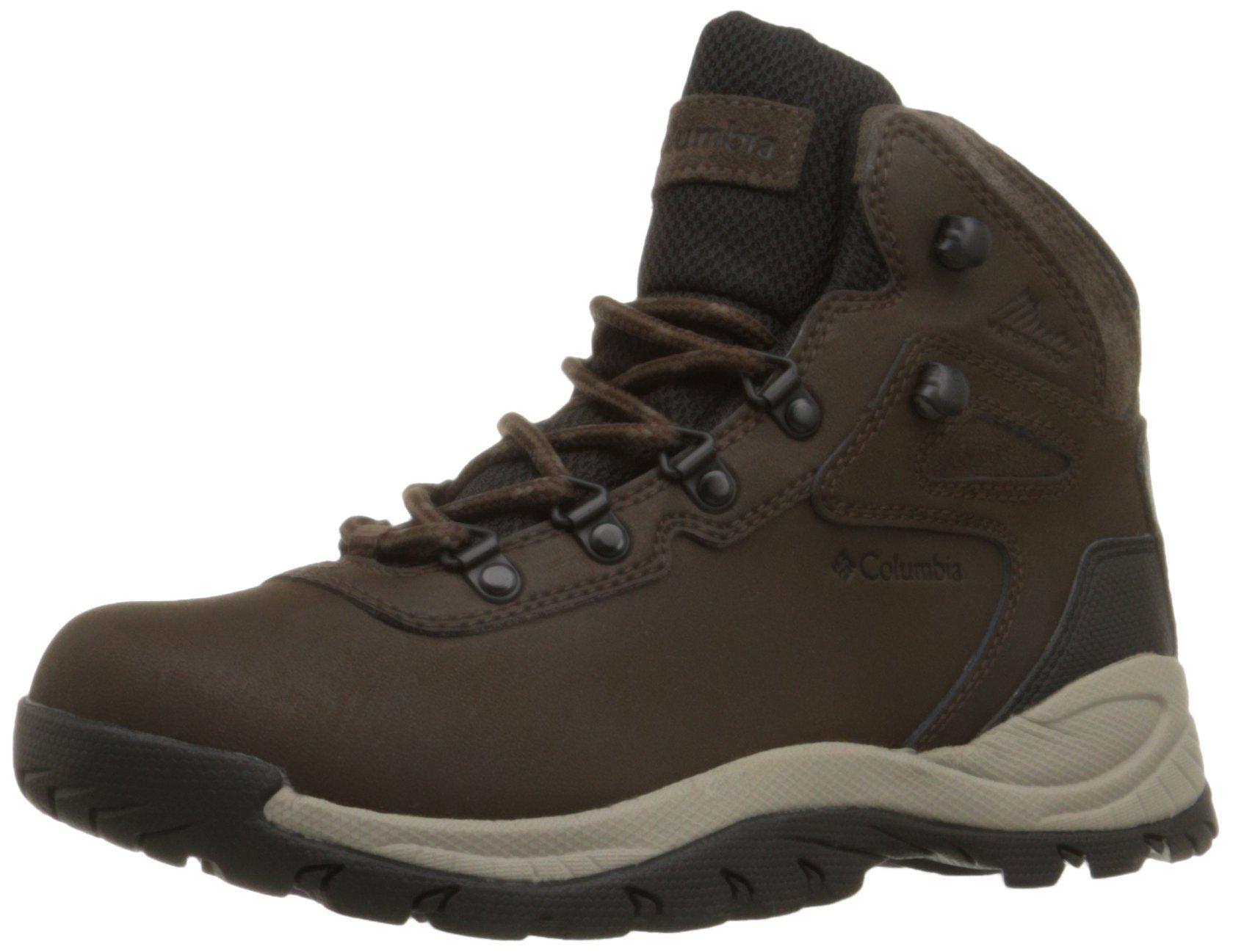 Columbia Women's Newton Ridge Plus Hiking Boot, Cordovan/Crown Jewel, 6 M US