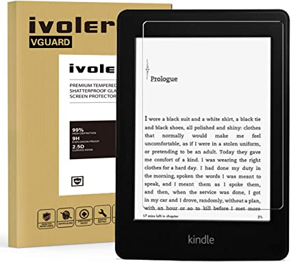 ivoler Protector de Pantalla para Amazon Kindle Paperwhite (All ...
