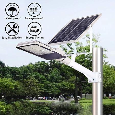 HUI Foco Solar Exterior Jardin Lámpara Solar LED IP65 Impermeable Inalámbrico Seguridad Luz Solar Luces Solares con Mando A Distancia para Jardín, Garaje, Camino, Patio,100W: Amazon.es: Hogar
