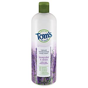 Tom's of Maine Body Wash, Body Wash for Women, Natural Body Wash, Lavender & Shea, 16 Ounce, 1-Pack