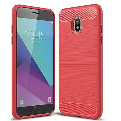 Amazon.com: Halnziye - Carcasa para Samsung Galaxy J3 2018 ...