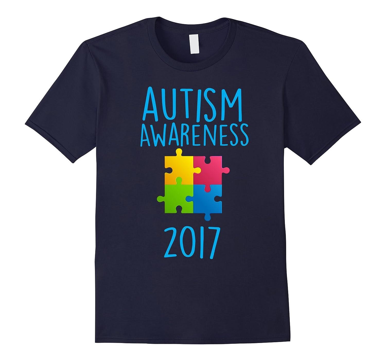 Autism Awareness Month 2017 - Light it Up Blue T-Shirt-TH