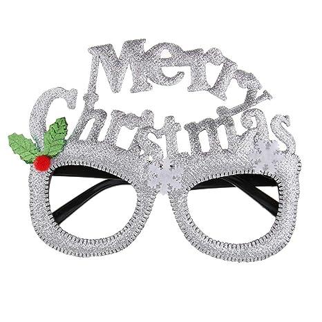 P Prettyia Gafas de Sol Copo de Nieve Novedad Fiesta Brillo ...