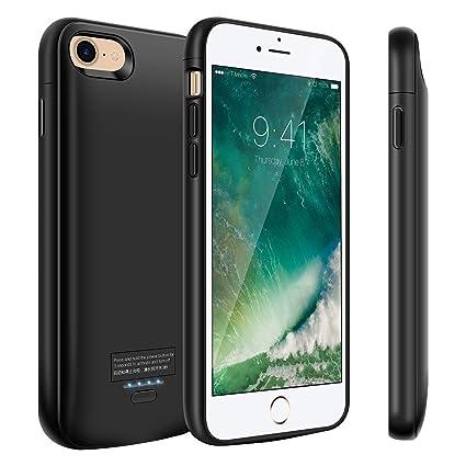 Amazon.com: Funda de batería para iPhone 8/7, 4000 mAh ...