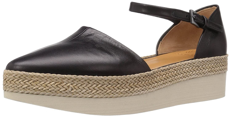 Coclico Women's Pop-up Pointed Toe Flat B01M28N26K 40 EU/9.5 - 10 M US Black