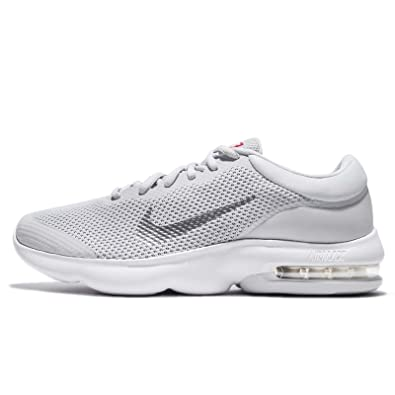 info for 8b1bf 214b3 Nike Men's Air Max Advantage Running Shoe Pure Platinum/White/Wolf Grey  Size 8