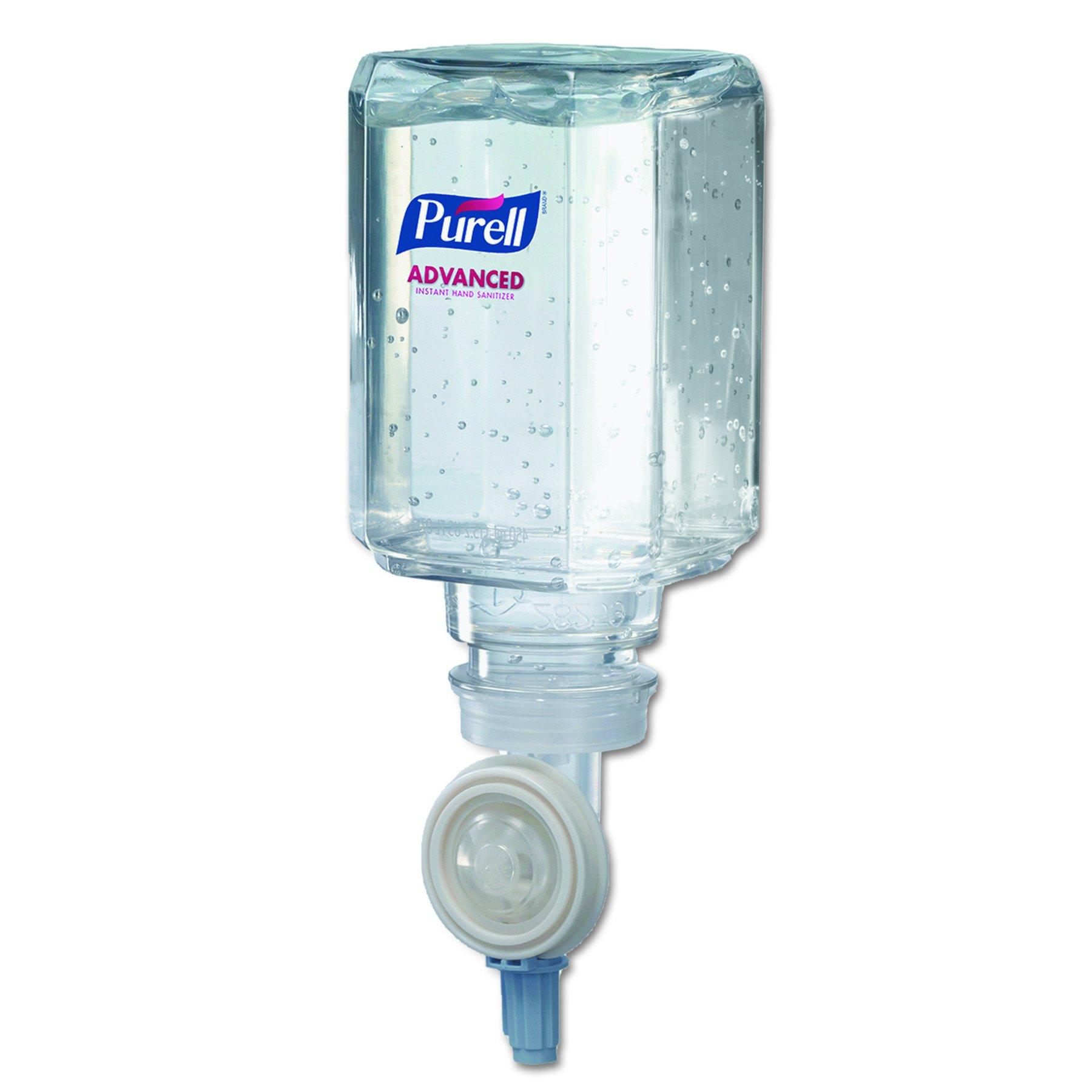 PURELL 1450082CT Advanced Instant Hand Sanitizer Gel, Lemon Scent, 450 mL Refill (Case of 16)