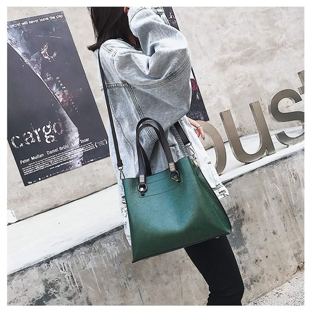 Tatkldisu Tatkldisu Tatkldisu PU-Lederhandtaschen-Designer-Geldbeutel-Schulter-Beutel-Spitzenhandgriff-Umhängetaschen für Frauen (Farbe   Grün) B07L8ZZP9K Damenhandtaschen Am wirtschaftlichsten 21b218