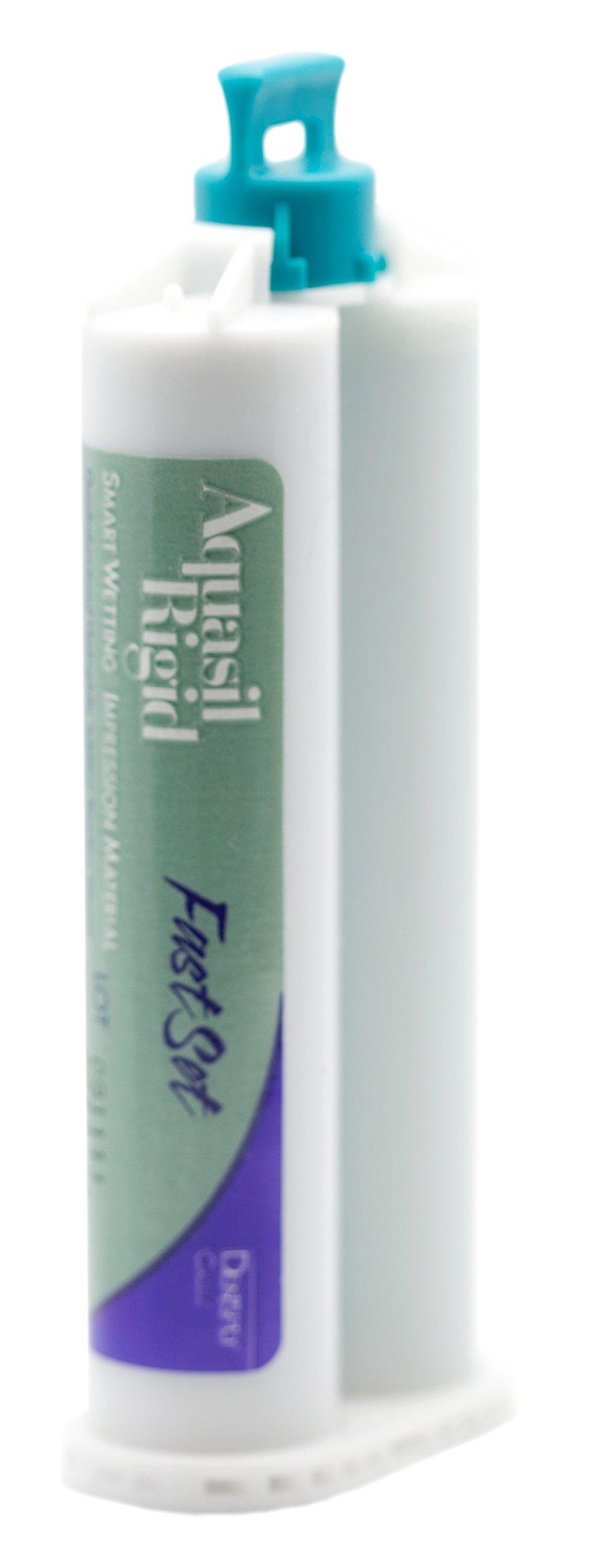 Dentsply 678355 Aquasil Smart Wetting Impression Material, Cartridge Refill, Rigid, Fast Set, Light Green, 50ml