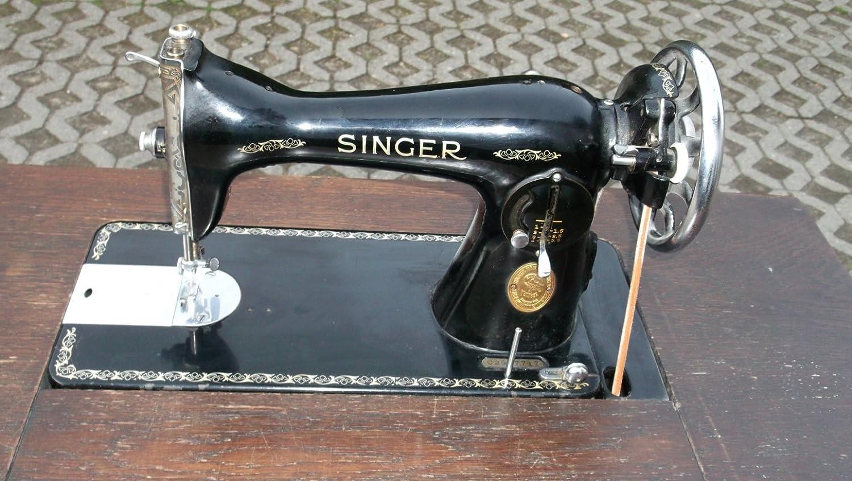Máquina de coser Singer 88 15D, envejecido, usado, con madera ...