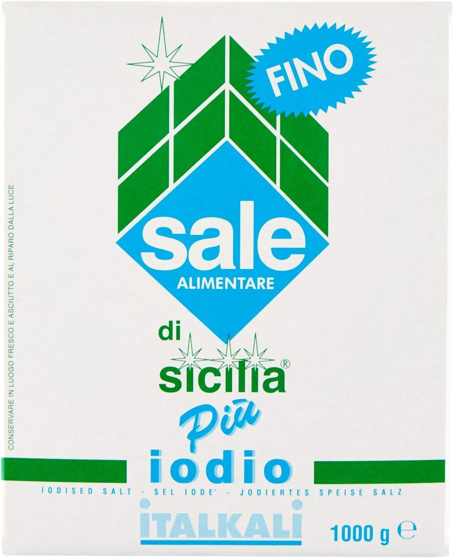 Sale di Sicilia Pi� Iodio Fino - 1000 gr