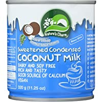 Natures Charm Sweetned Condensed Coconut Milk, 11.25 Ounce. (Pack of 4)