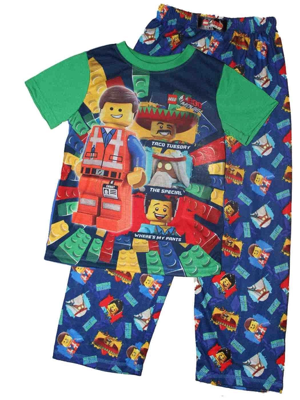 The Lego Movie Boys Pajamas 4-12