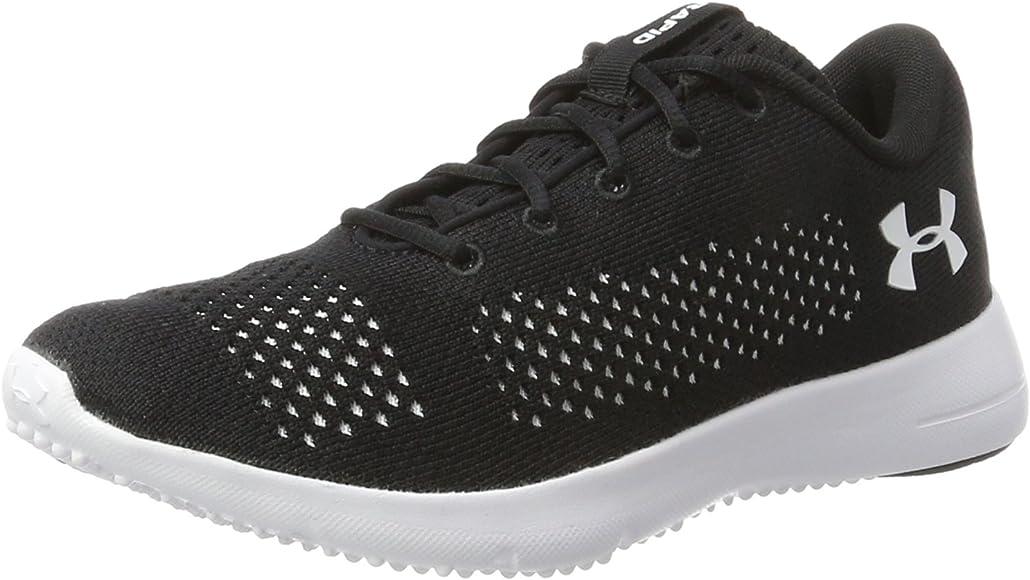 Under Armour Rapid, Zapatillas de Running para Mujer, Negro (Black/White/White 001), 35.5 EU: Amazon.es: Zapatos y complementos