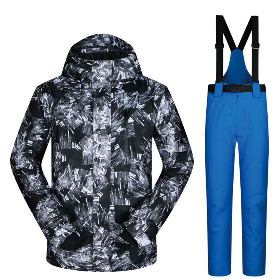 Nalkusxi Outdoor Outdoor Outdoor Escursionismo Neve Sport Sci Giacca e Pantaloni Snow Suit (Coloree   05, Dimensione   XXXL)B07KQ6M1WCXXL 01 | Online Shop  | Qualità e quantità garantite  | una vasta gamma di prodotti  | Prezzo Ragionevole  | Menu elegante e robusto 0bb0ab