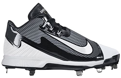 Nike Air Swingman Legend Black White Metal Baseball Cleats (9.5 D(M) a7212c53e6a