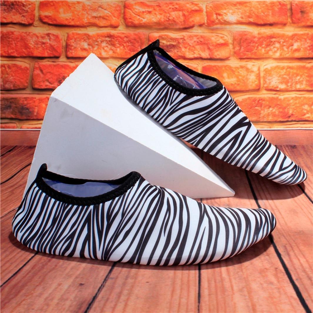 WuyiM 2018 Fashion Barefoot Socks Quick-Dry Water Shoes Aqua Socks Barefoot for Beach Pool Swim Diving Surf Yoga Exercise for Unisex B07DC18MF4 US:5-5.5 2 White 07b9a4