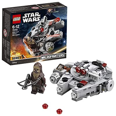 LEGO Star Wars Millennium Falcon Microfighter Star Wars Toy: Toys & Games