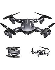 BINDEN Drone iShark XS816 con Doble Cámara, Posicionamiento Óptico, 20 Minutos de Vuelo y Velocidad Ajustable