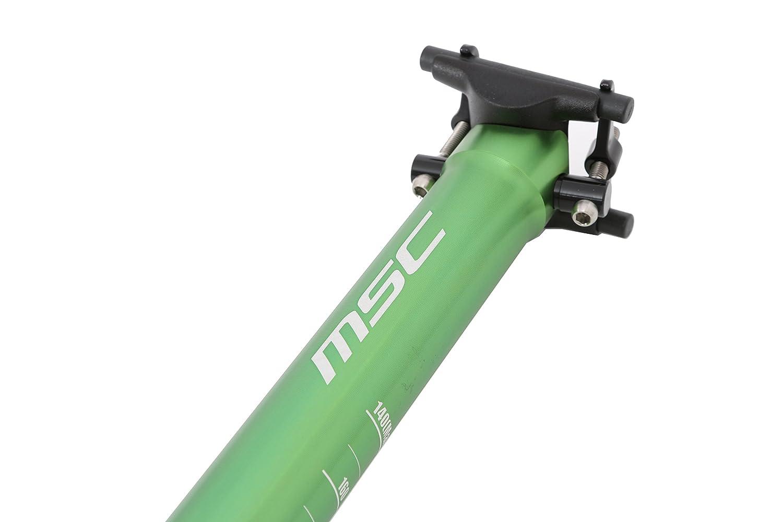 Straight MSC Bikes MSC 30.9 mm 410 mm Alu7075T6 Tija de sill/ín de Ciclismo