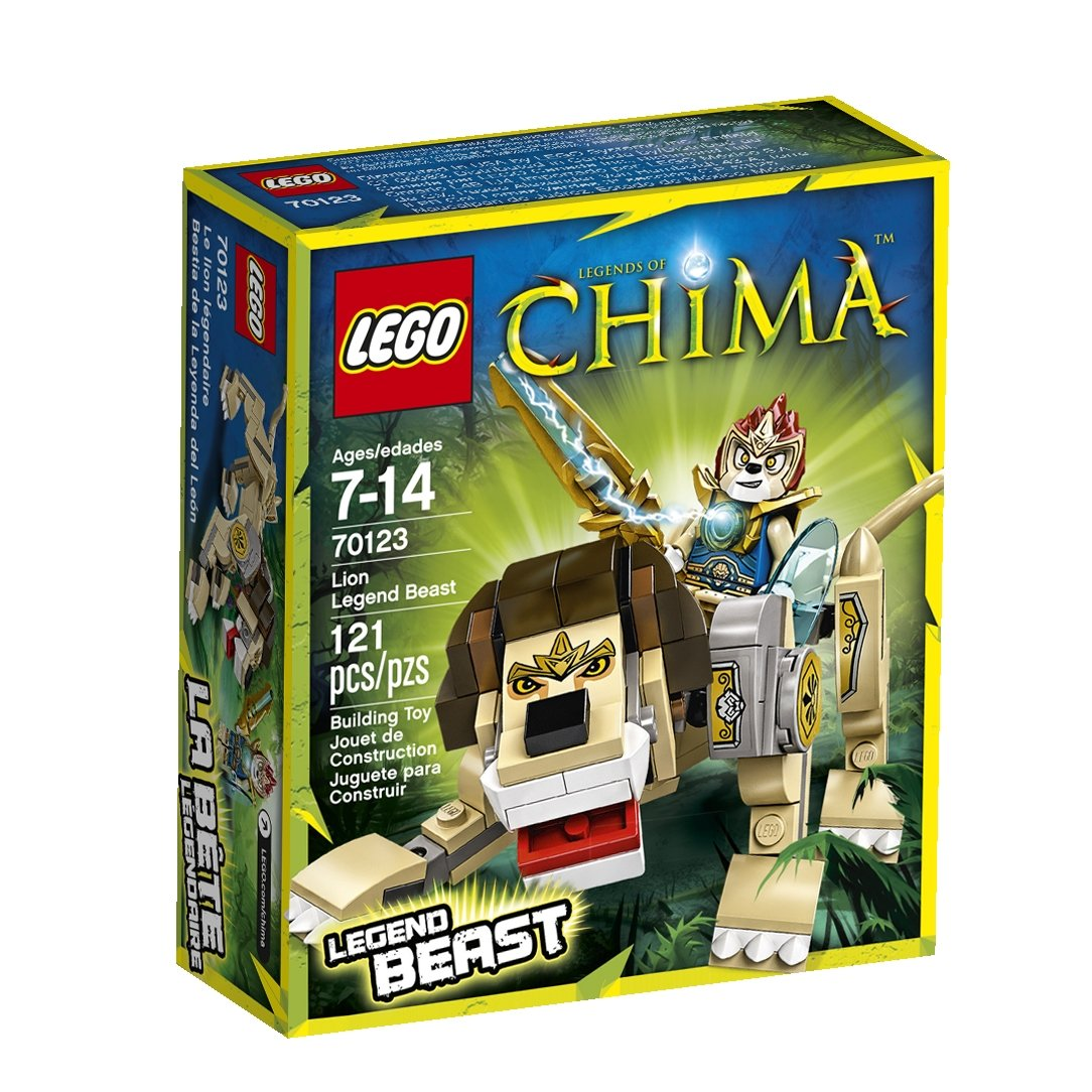 Amazon chima party supplies - Amazon Com Lego Legends Of Chima Lion Legend Beast 70123 Toys Games