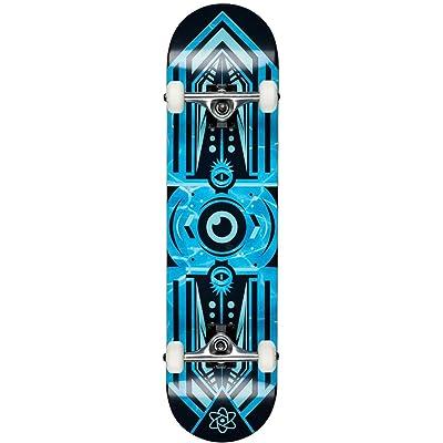 Rocket Skateboard Complet Surveillance Series - 7.75 Inch Bleu (, Bleu)