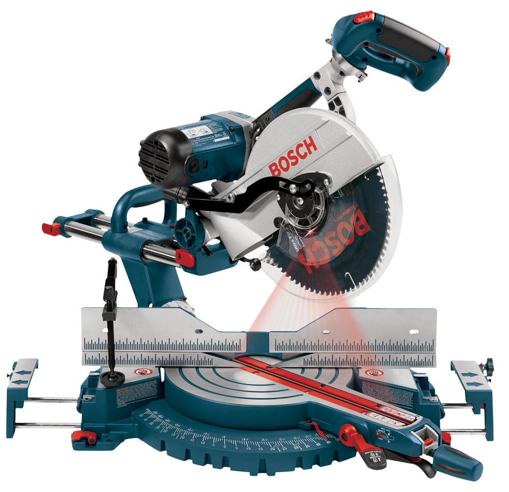 Bosch 5412L 12-Inch Dual Bevel Slide Miter Saw with Laser Tracking - Power Miter  Saws - Amazon.com