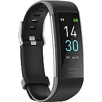 Jiecheng - Reloj de pulsera de fitness ligero con monitor de sueño, contador de calorías, contador de pasos, podómetro…