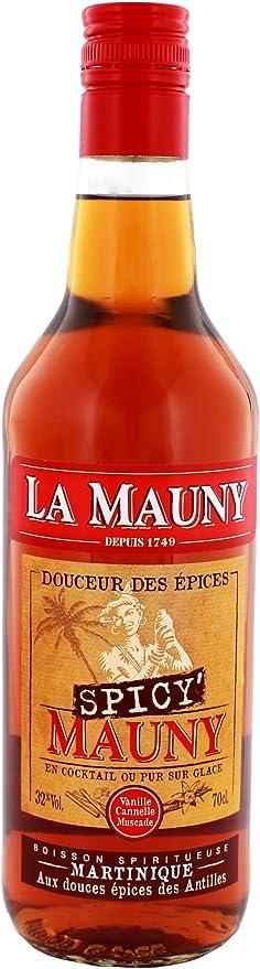 La mauny Spicy Ron épicé (1 x 0,7 l): Amazon.es: Alimentación ...
